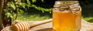 photo d'un pot de miel